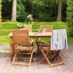 nábytek na zahradu židle stůl rozkládací skládací
