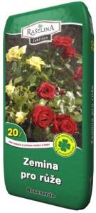 substrát pro růže
