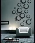 tapeta-dekorace na zeď bubliny