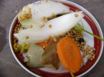 koření a zelenina do nakládaček