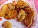 řízky z hub s parmazánem