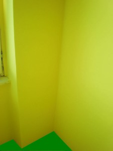 Stejná zeď dva roky po aplikaci Maxithermu