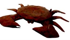 origami krab