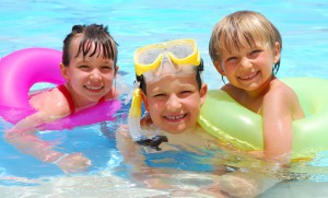 dezinfekce vody v bazenu