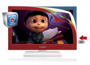 televize s barevnym rameckem
