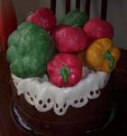 zeleninovy dort