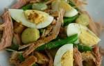 salat s vejci