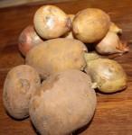 plesniveni brambor