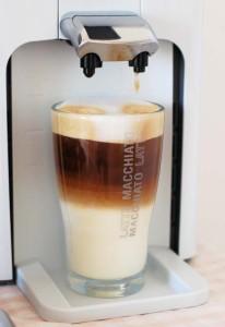 latte z kapsle