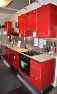 cervena kuchyne
