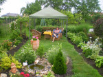 zahrada posezeni