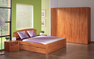 postel s uloznym prostorem