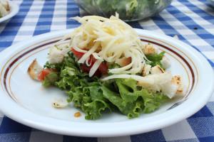 zeleninovy salat se syrem