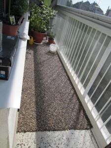 podlaha na balkone