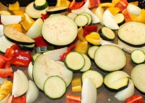 zelenina na grilovani