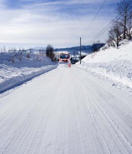 Liapor zimni posyp silnic