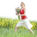 louka kvety nahled