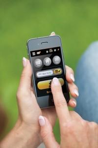 sekacka v mobilu