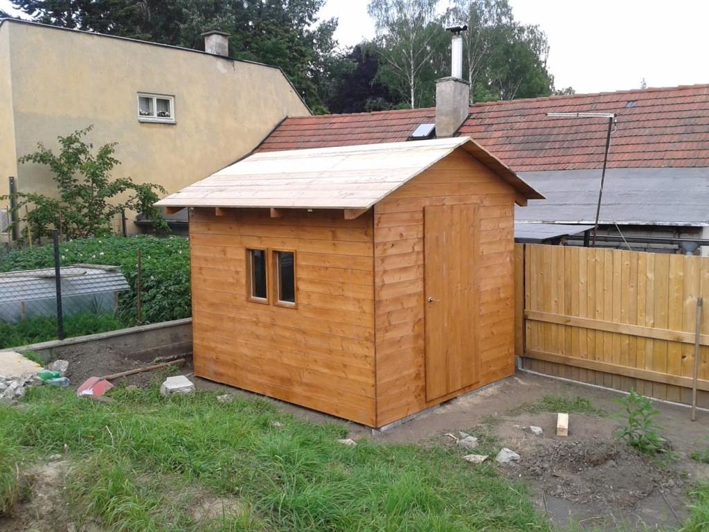 dreveny zahradni domek