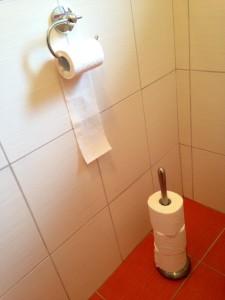 drzak na toaletak