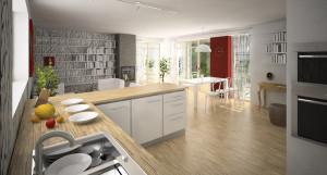 kuchyne navrh architekta