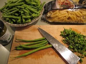 fazolky v kuchyni