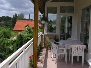 zimni zahrada a balkon