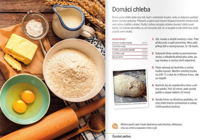 lada hruska recept chleba