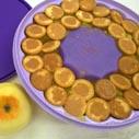 nepeceny dort s jablky nahled