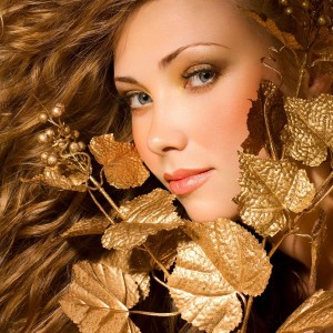 zlato ve vlasech