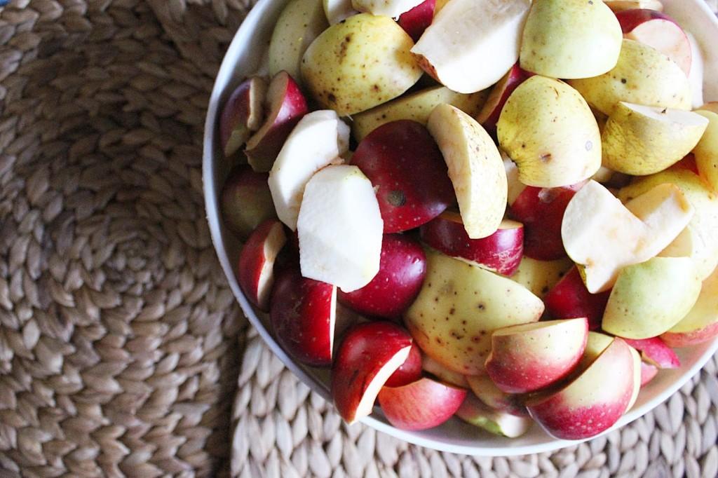 jablecny kompot jablka