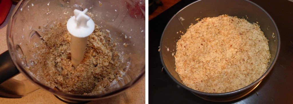 kokosovy raw dort korpus