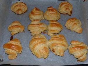 recept na croissanty