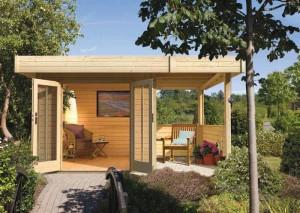 dreveny domek Karibu Multi Cube