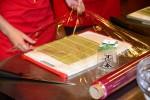 sushi prace s bambusovou podlozkou