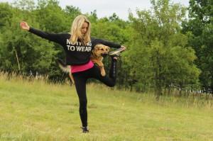 pes dog dancing