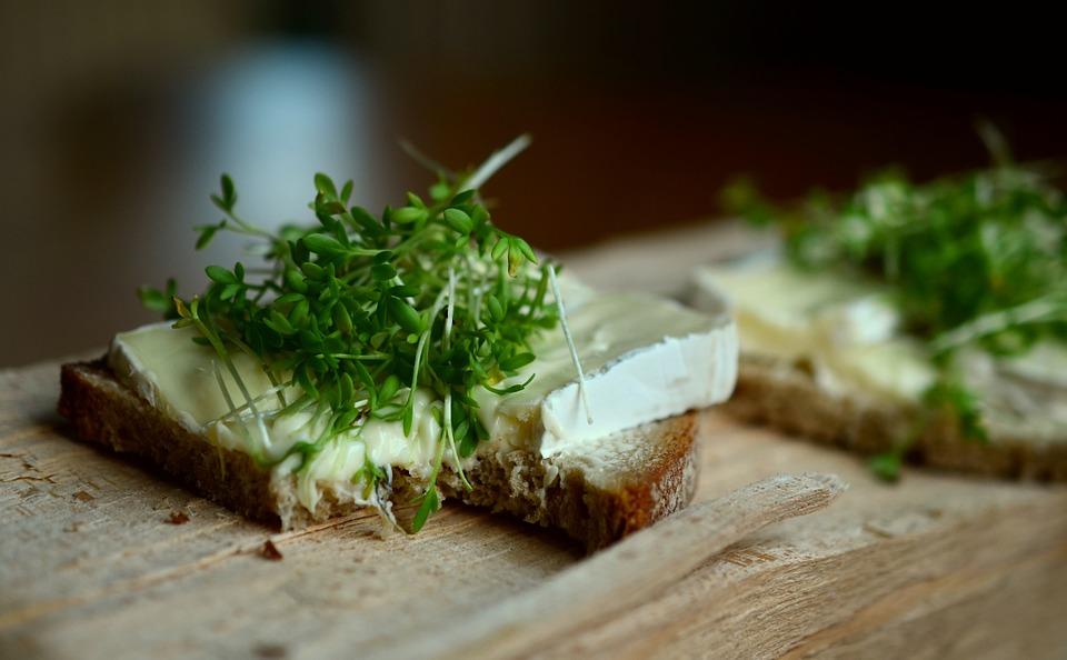 chleb se syrem a rericha