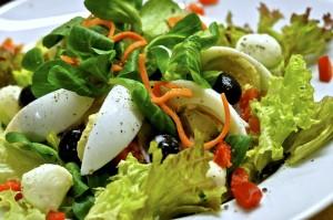 jidlo salat