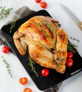 Pečené kuře na bylinkách