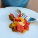 salat z pecenych paprik nahled