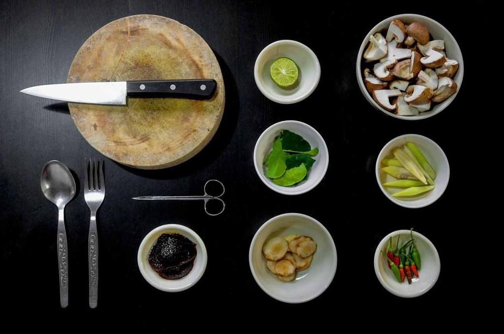 kuchyne suroviny