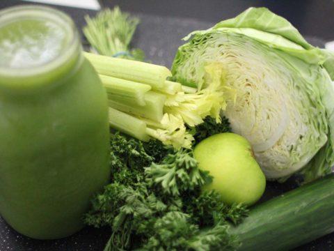 zelene smoothie raw vegan