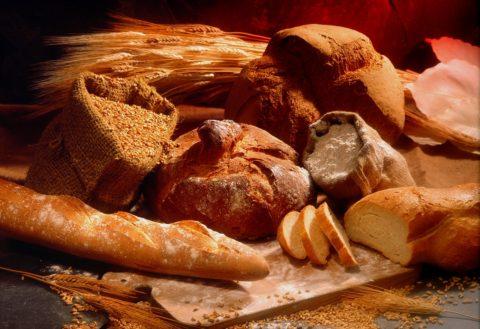 mouka chleb pecivo