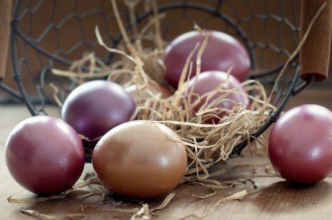barveni vajec prirodne