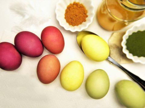 prirodni barveni vajec