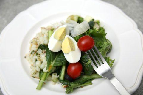 zeleninovy salat s vejcem