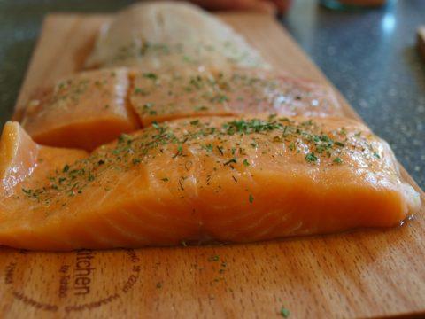marinovany losos