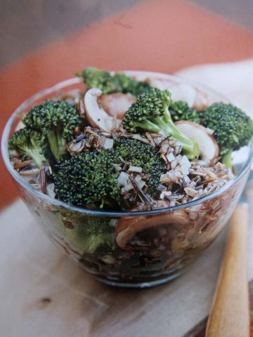 divoka ryze s brokolici