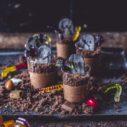 Halloween dezert hroby
