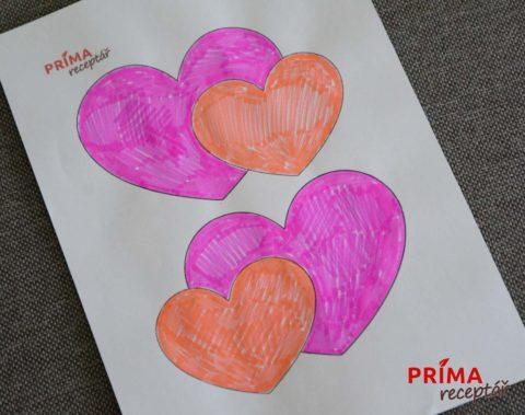 vyrobna valentyn srdce